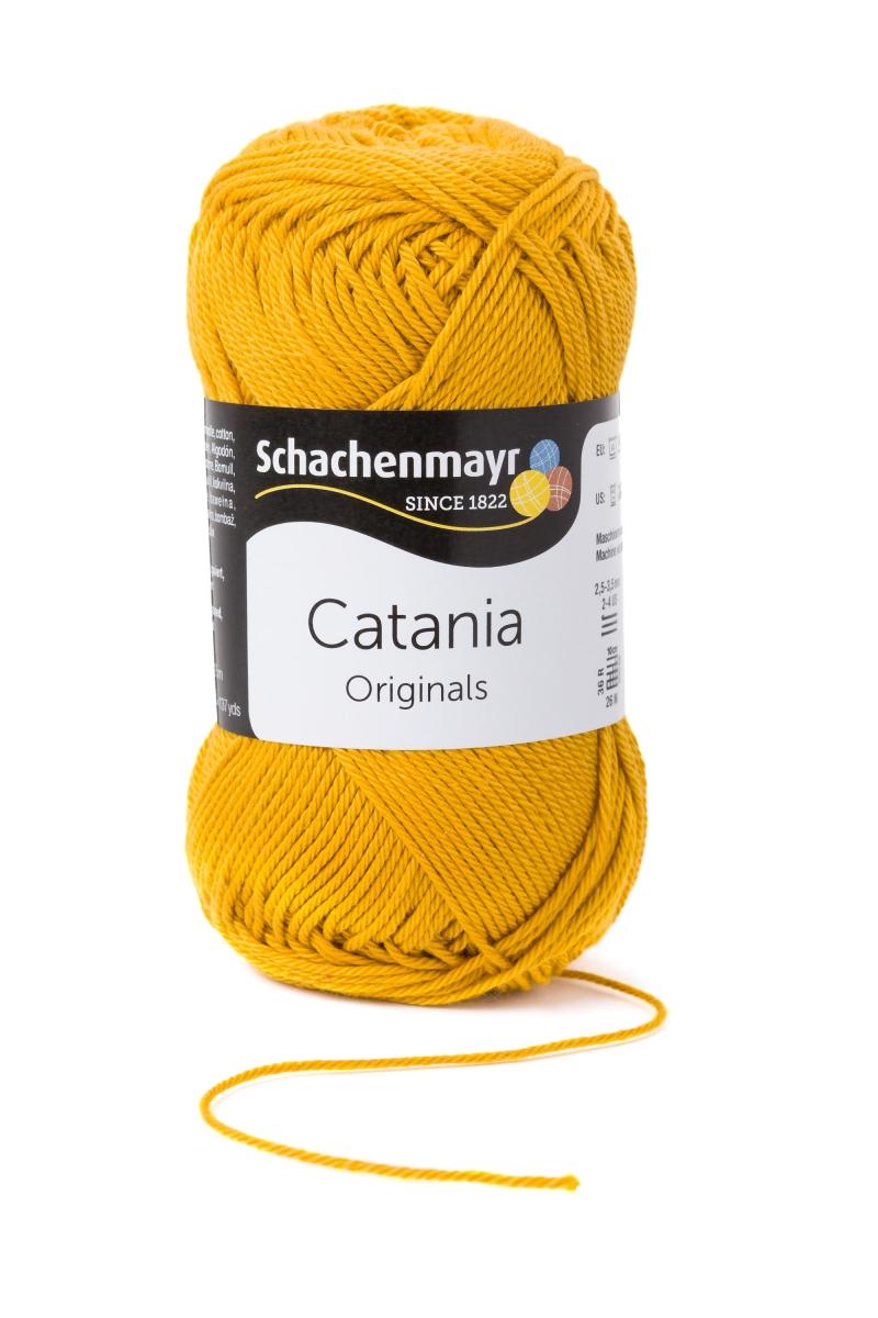 Kleinesbild - Catania No.249 gold 100% Baumwolle (von Schachenmayr) ♥Mäusewerkstatt♥