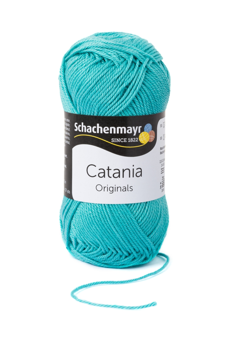 Kleinesbild - Catania No.253 jade 100% Baumwolle (von Schachenmayr) ♥Mäusewerkstatt♥