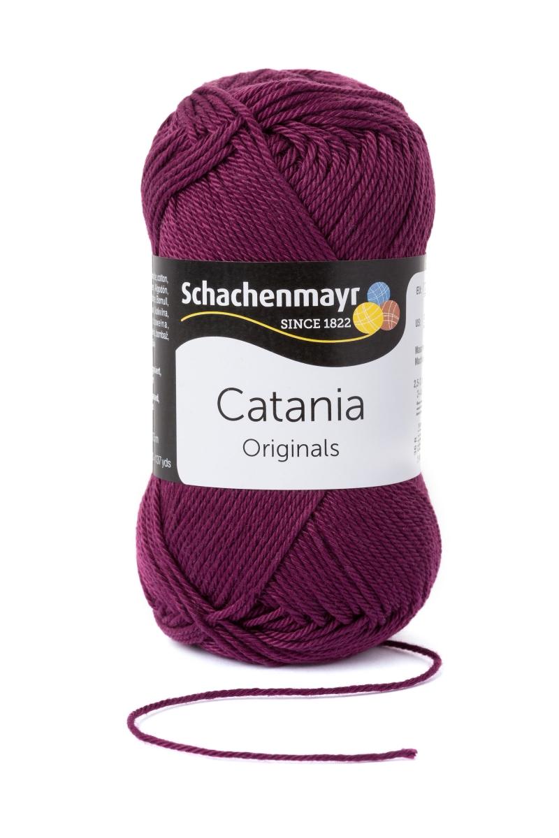 Kleinesbild - Catania No.394 burgund 100& Baumwolle (von Schachenmayr) ♥Mäusewerkstatt♥