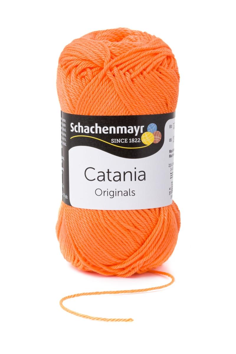 Kleinesbild - Catania No.386 orangelachs 100% Baumwolle (von Schachenmayr) ♥Mäusewerkstatt♥