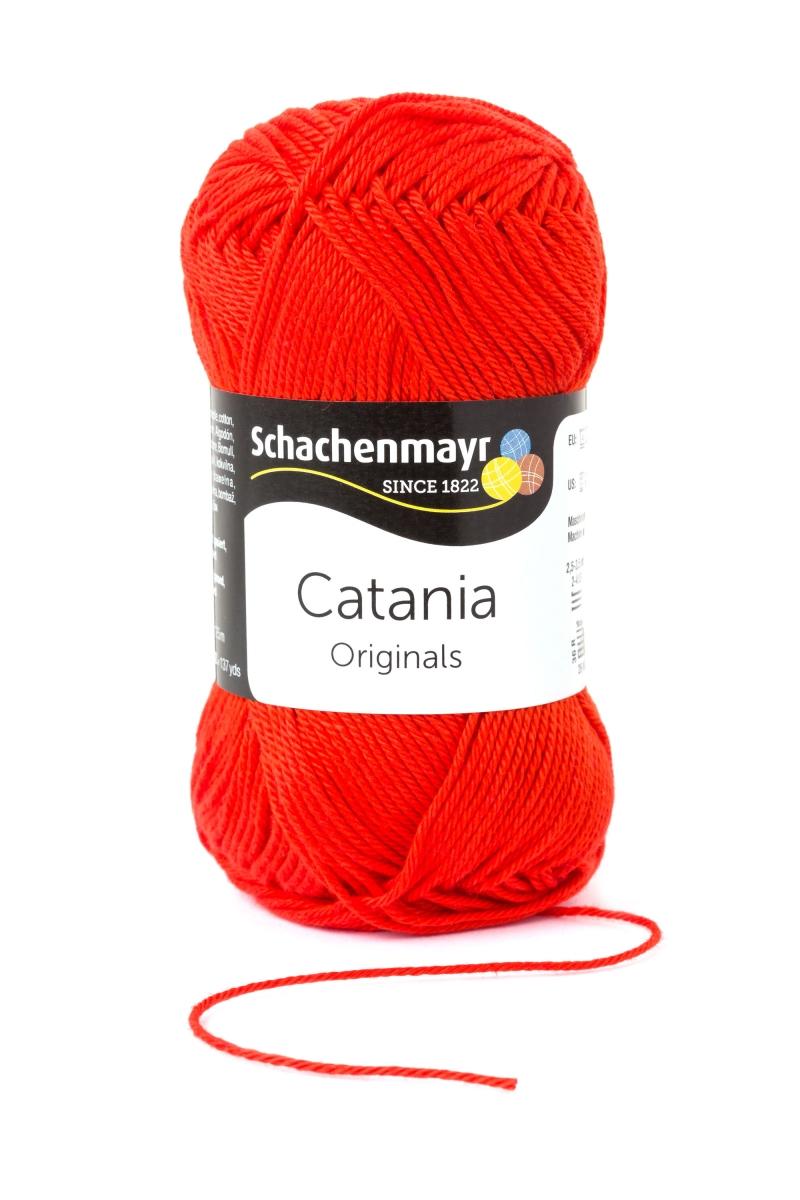 Kleinesbild - Catania No.390 tomate 100% Baumwolle (von Schachenmayr) ♥Mäusewerkstatt♥