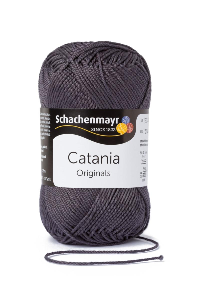 Kleinesbild - Catania No.429 anthrazit 100% Baumwolle (von Schachenmayr) ♥Mäusewerkstatt♥