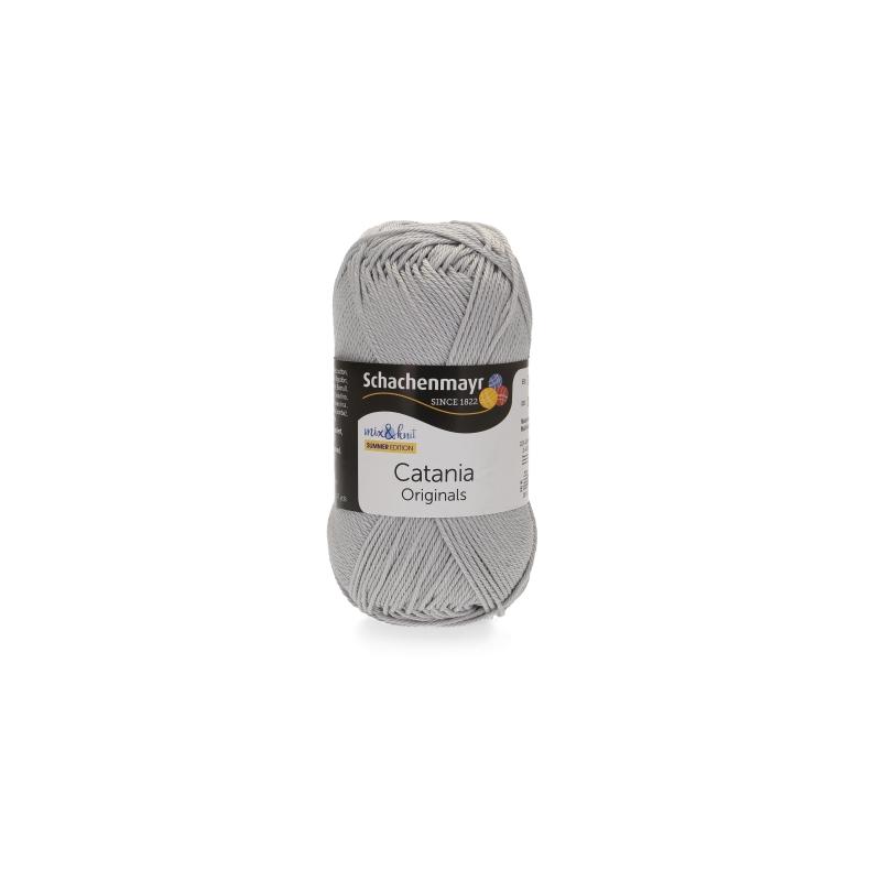 Kleinesbild - Catania No.434 nebel 100% Baumwolle (von Schachenmayr) ♥Mäusewerkstatt♥