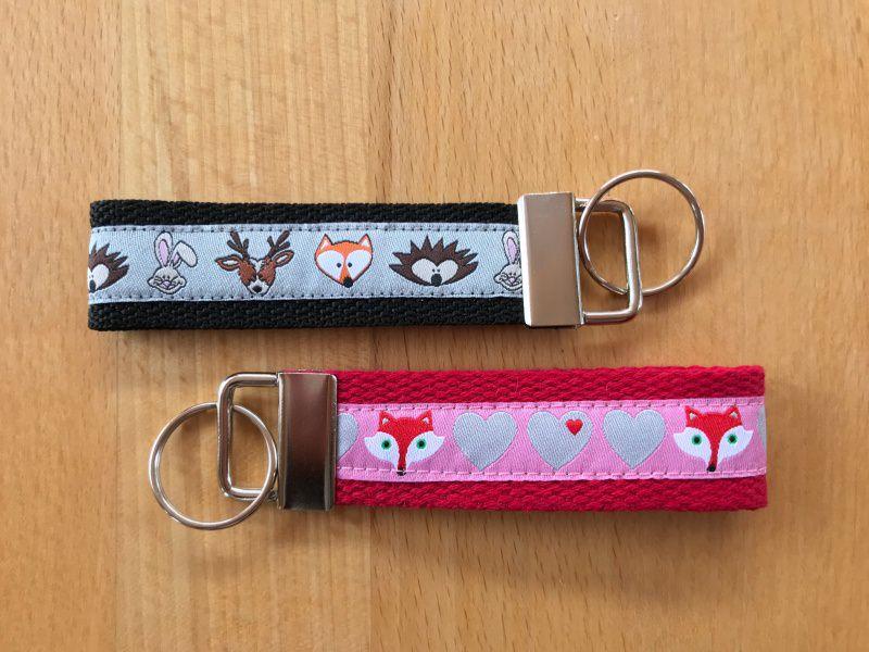 Kleinesbild - Schlüsselanhänger Fuchsliebe ❤️