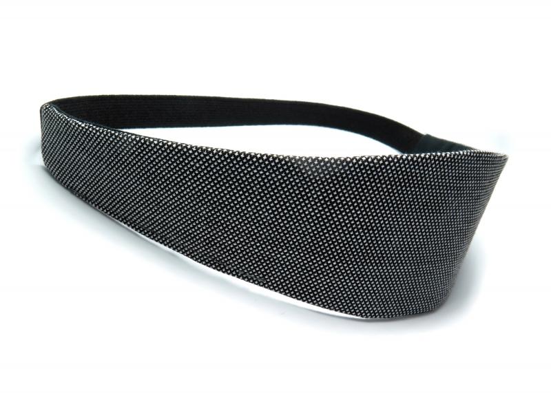 Kleinesbild - Milo-Schaly Haarband zum Wenden Stirnband schwarz weiß Business Wendehaarband Abschminkband