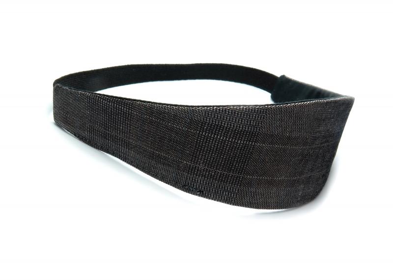 Kleinesbild - Milo-Schaly Haarband zum Wenden Stirnband schwarz weiß Glencheck Wendehaarband Abschminkband (Kopie id: 100242110)