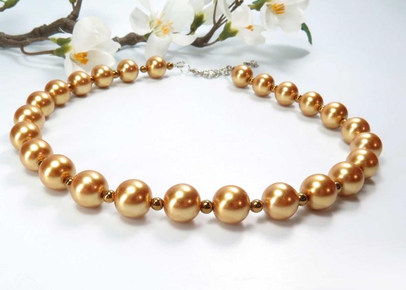 Kleinesbild - Kayleigh-und-Sorrow Halskette goldfarben Collier Einzelstück Kette (Kopie id: 100242779)