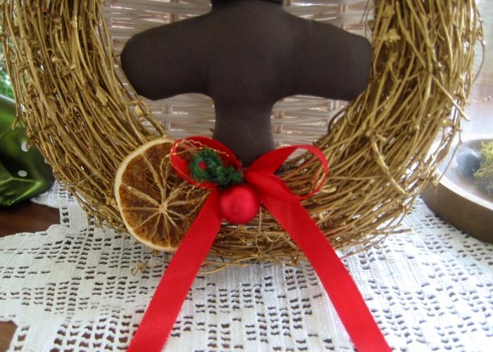 Kleinesbild - Türkranz Weihnachten Deko Kranz Tannenbaum Weihnachtsdeko Merry X-Mas