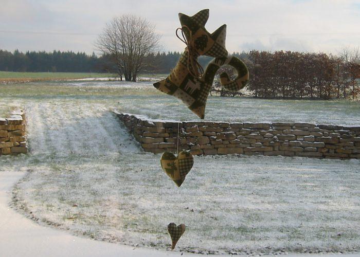 Kleinesbild - Katze Deko Weihnachten Girlande Katzengirlande Advent Winterzeit