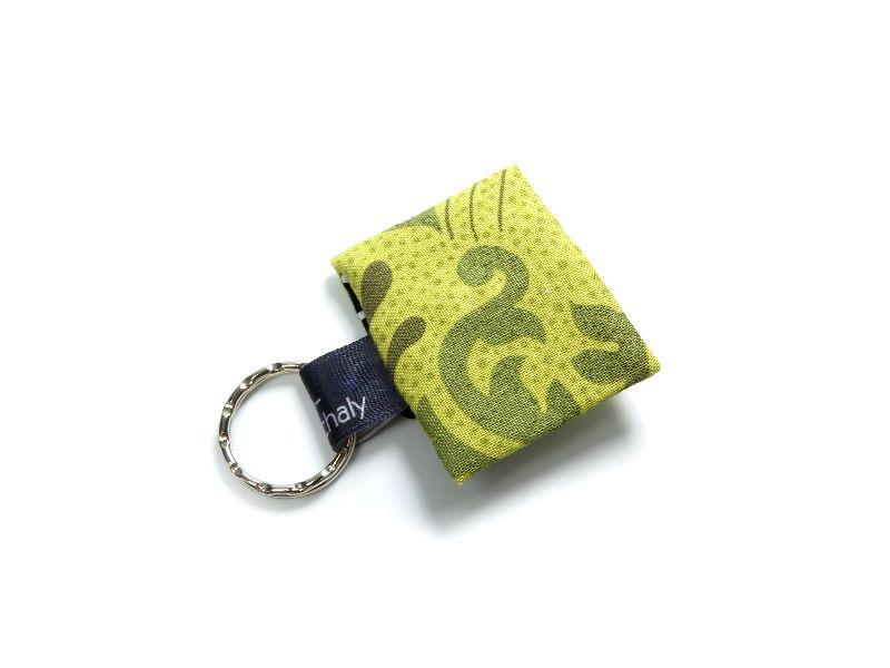 Kleinesbild - Milo-Schaly Einkaufswagenchip Täschchen Schlüsselanhänger mit Chip grün Chiptäschchen