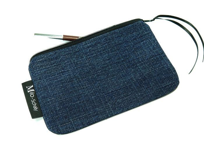 Kleinesbild - Milo-Schaly Kosmetiktasche Jeans Schminktäschchen Krimskrams Täschchen Kosmetiktäschchen