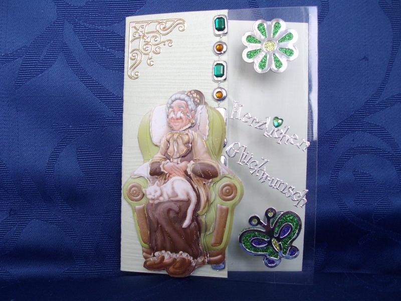 - Geburtstagskarte für eine liebe nette Omi - Geburtstagskarte für eine liebe nette Omi