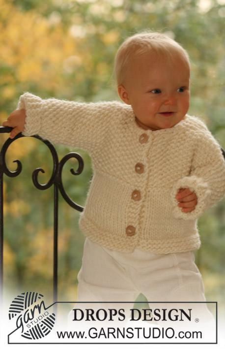 Kleinesbild - Baby Jacke mit Schuhe--Gr.:62-68--Handgestrickt in der Farbe Rose mit angenehm, weicher und wärmender 100% Wolle