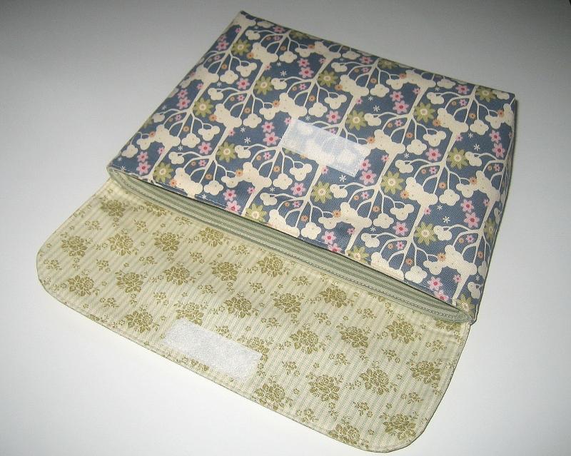Kleinesbild - Büchertasche für Taschenbücher, Unikat aus Baumwollstoffen