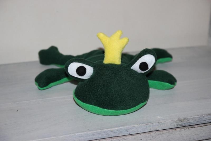Kleinesbild - Kirschkernkissen Wärmekissen Körnerkissen Frosch  Kissen