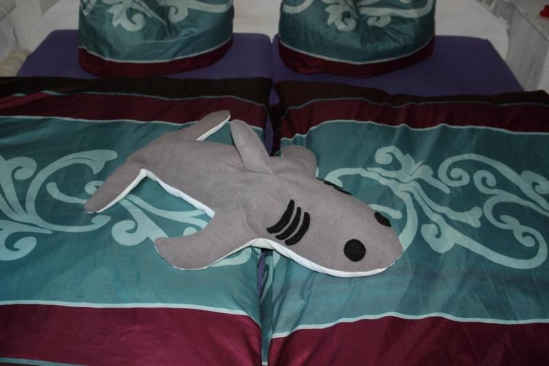 Wohnen : Hai Kissen Kuschelkissen Hai Plüschtier Kissen Super Großes Hai  Kuscheltier