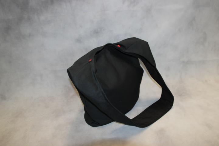 Kleinesbild - schwarze Yogatasche Tasche Yoga XXL Umhängetasche Punk Anarchie