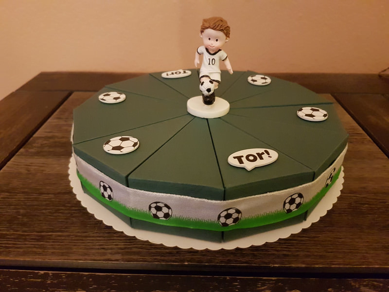 Anlässe Fußball Torte Zum 18geburtstag