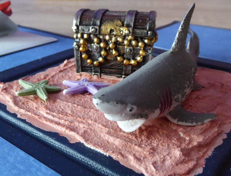 - Geldgeschenkverpackung - Unten im Meer - Geldgeschenkverpackung - Unten im Meer