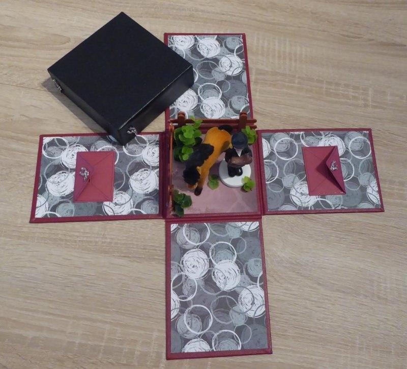 Kleinesbild - Geldgeschenkverpackung - Reiterin/Pferd