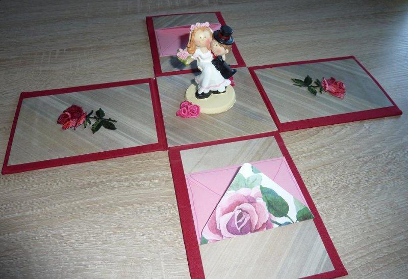 Kleinesbild - Geldgeschenkverpackung - Hochzeit