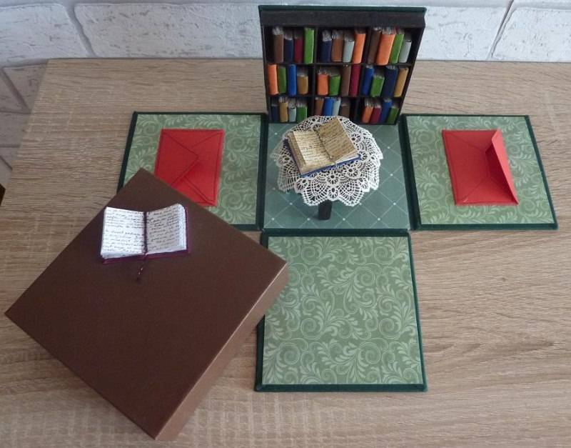 Kleinesbild - Geldgeschenkverpackung -Bücherfreund