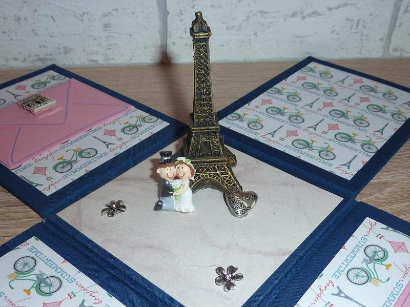 - Geldgeschenkverpackung - Hochzeit - Paris - Geldgeschenkverpackung - Hochzeit - Paris