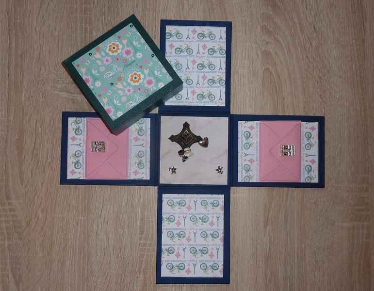 Kleinesbild - Geldgeschenkverpackung - Hochzeit - Paris