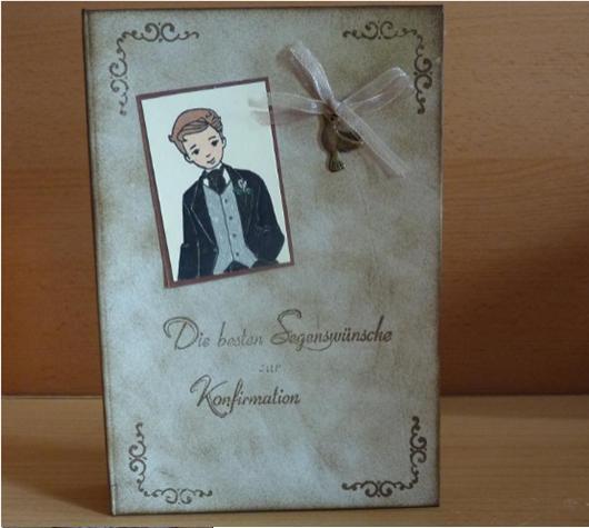 - Geschenkverpackung Konfirmation - Buch - Geschenkverpackung Konfirmation - Buch