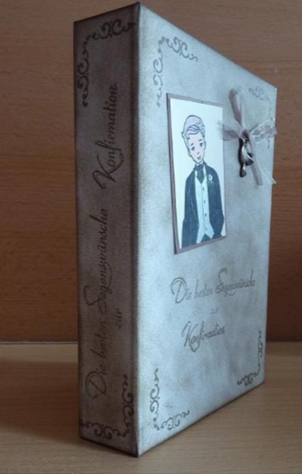 Kleinesbild - Geschenkverpackung Konfirmation - Buch