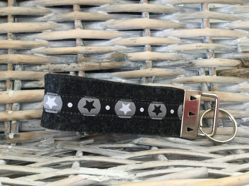 Kleinesbild - Schlüsselanhänger Schlüsselband Filz