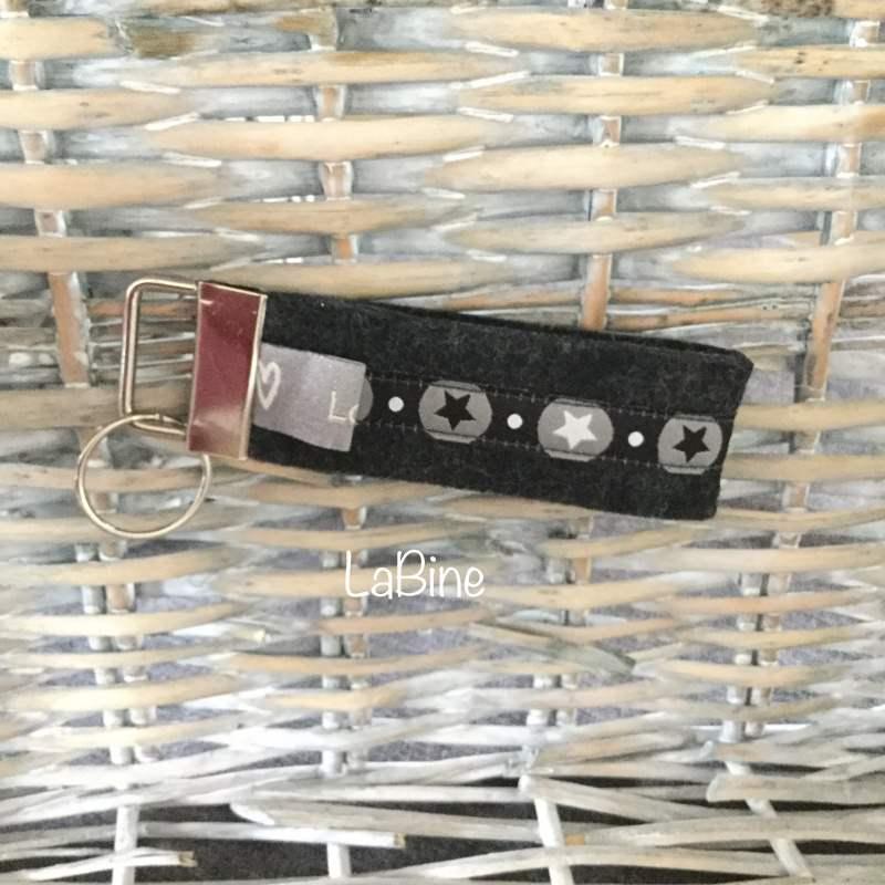 - Schlüsselanhänger Schlüsselband Filz  - Schlüsselanhänger Schlüsselband Filz