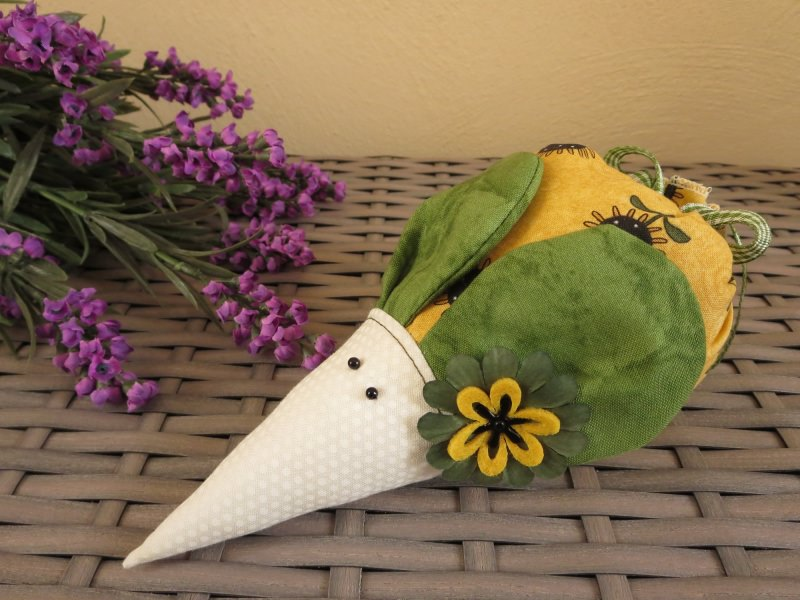 - Lavendelmaus ★Sunflower★ ein Lavendelsäckchen mit Ohren  - Lavendelmaus ★Sunflower★ ein Lavendelsäckchen mit Ohren