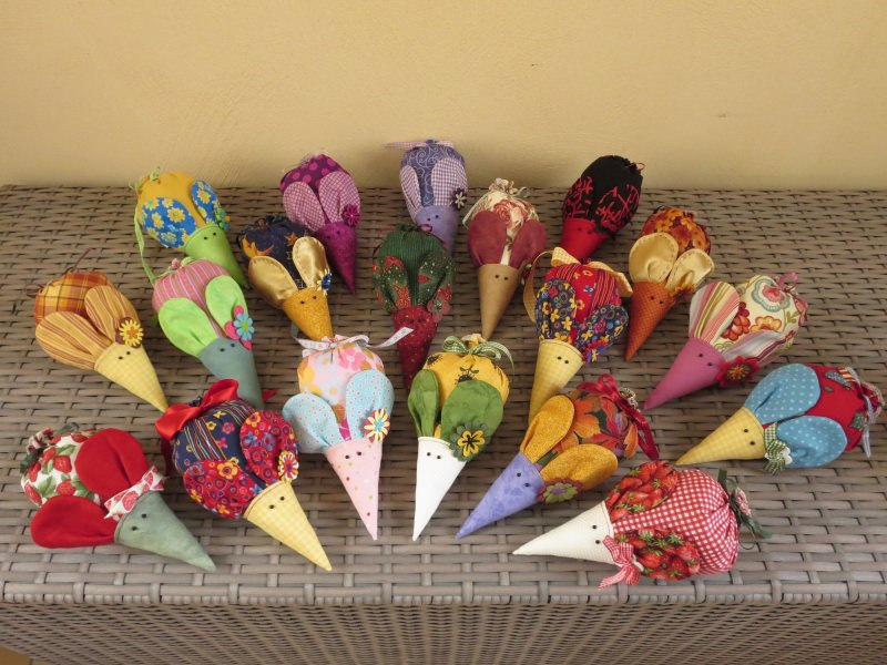 Kleinesbild - Lavendelmaus ★Sunflower★ ein Lavendelsäckchen mit Ohren