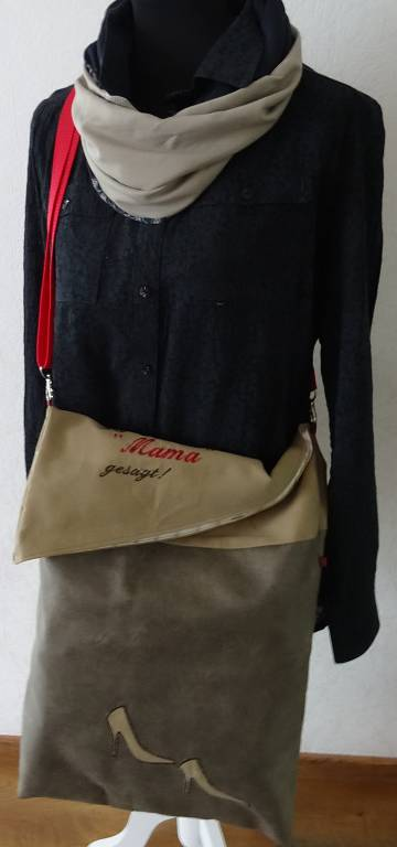 Kleinesbild - Einkaufstasche wandelbar mit Text
