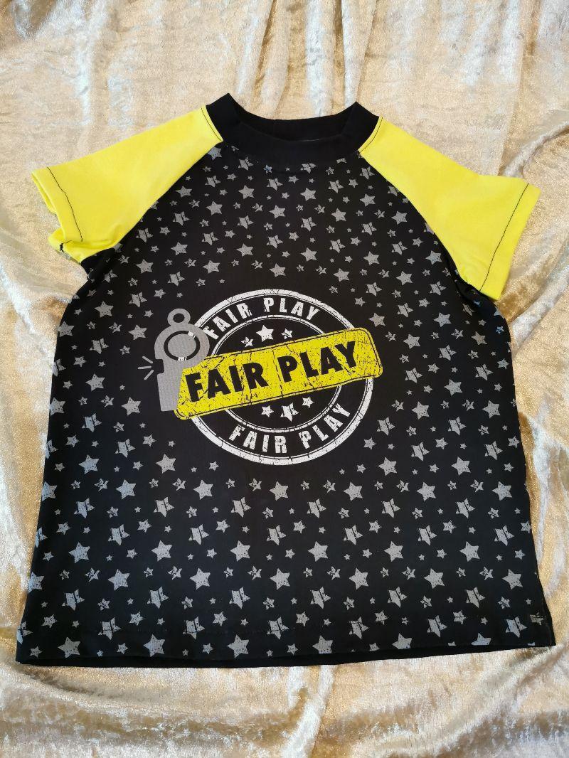 - T-Shirt ´Fair Play´ Gr. 110/116 - T-Shirt ´Fair Play´ Gr. 110/116