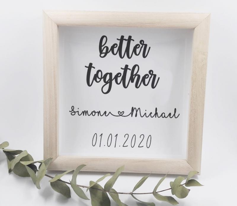 Hochzeit geschenke spruch
