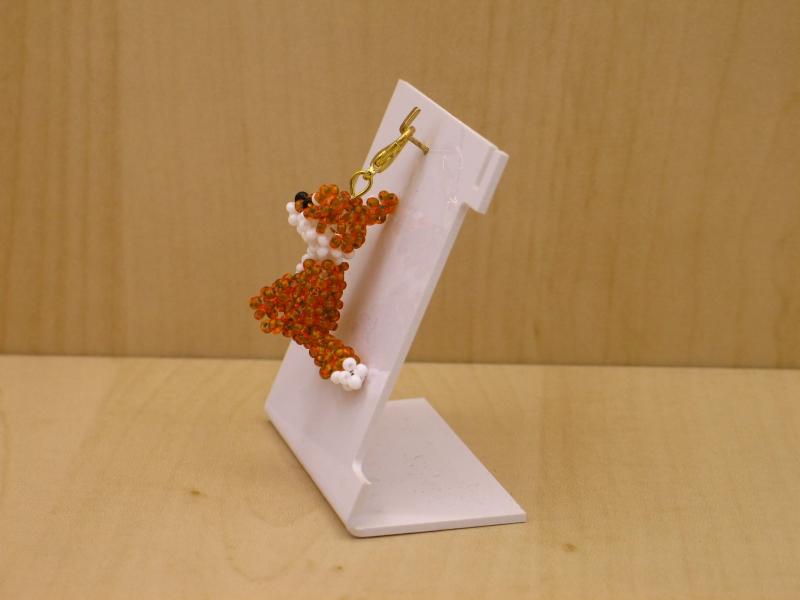 Kleinesbild - Charm Fuchs aus Rocailles