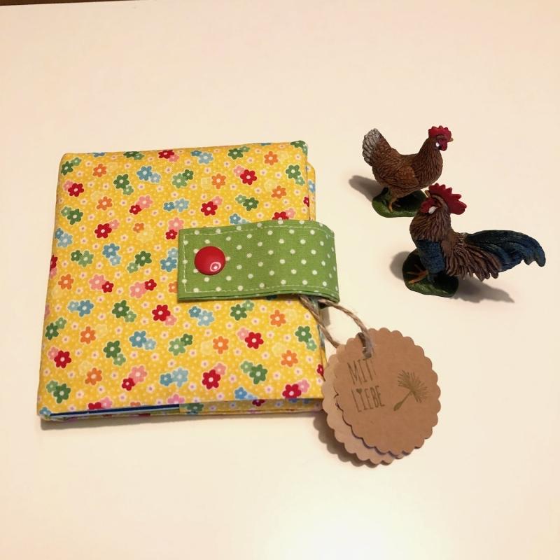 - Minibuchhülle, Hülle, Mäppchen für kleine Bücher, von Mausbär - Minibuchhülle, Hülle, Mäppchen für kleine Bücher, von Mausbär