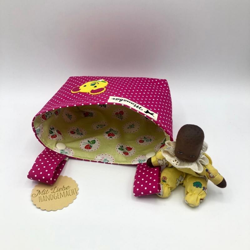 Kleinesbild - Kinder Lenkertasche für Puky, Laufrad, Roller, Dreirad , Kinderwagen, von Mausbär