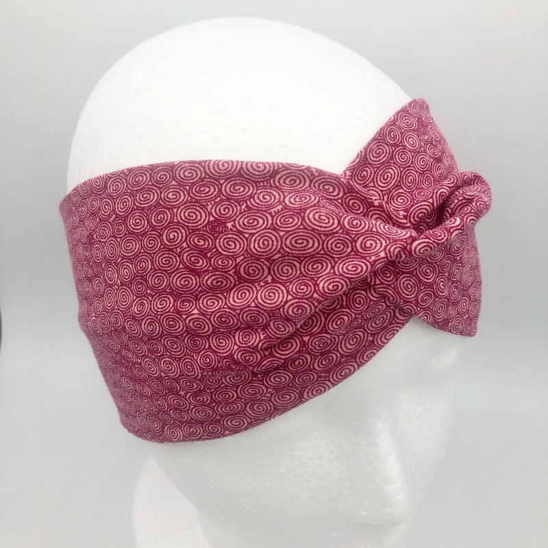 - Stirnband, Haarband , Bandeau , Boho-Stirnband 48 - 53 cm, altrosa - Stirnband, Haarband , Bandeau , Boho-Stirnband 48 - 53 cm, altrosa