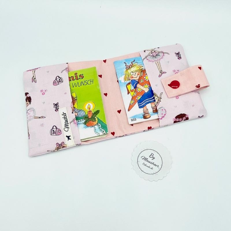 Kleinesbild - Minibuchhülle, Tasche, Mäppchen für kleine Bücher, von Mausbär