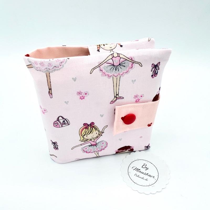 - Minibuchhülle, Tasche, Mäppchen für kleine Bücher, von Mausbär - Minibuchhülle, Tasche, Mäppchen für kleine Bücher, von Mausbär