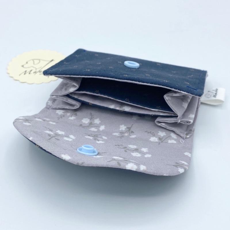Kleinesbild - Mini Geldbörse , Mini Geldbeutel, Portemonnaie, Geldbörse, Portmonee, von Mausbär