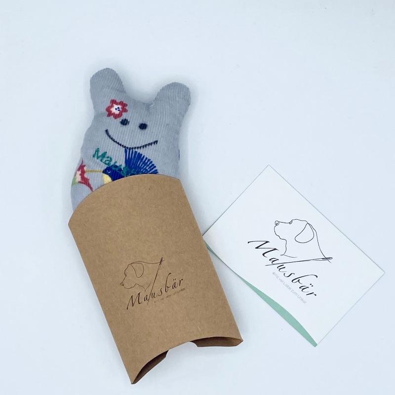 Kleinesbild - Taschenmausbär, Taschenfreund, Trösterle, kleiner Freund, Graupünktchen, von Mausbär