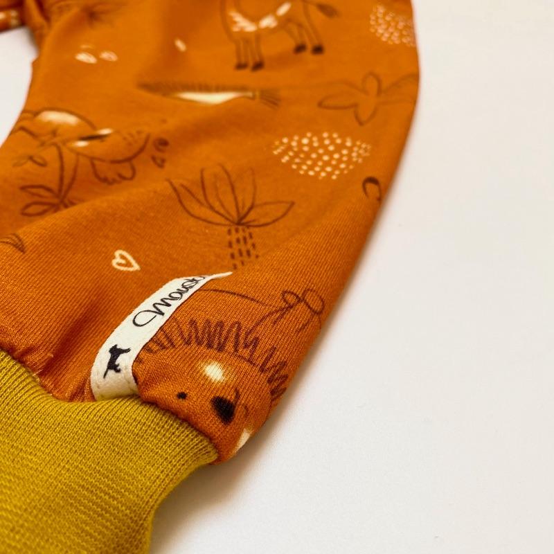 Kleinesbild - Pumphose, Größe 62 - 68,  Mitwachshose, Safari, von Mausbär