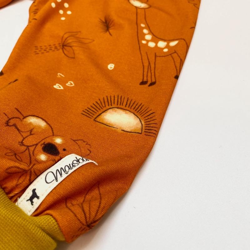 Kleinesbild - Pumphose, Größe 68 - 74,  Mitwachshose, Safari, von Mausbär