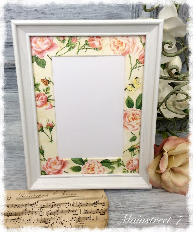 Wanddekoration : *Rose Garden* Shabby Bilderrahmen, Fotorahmen ...
