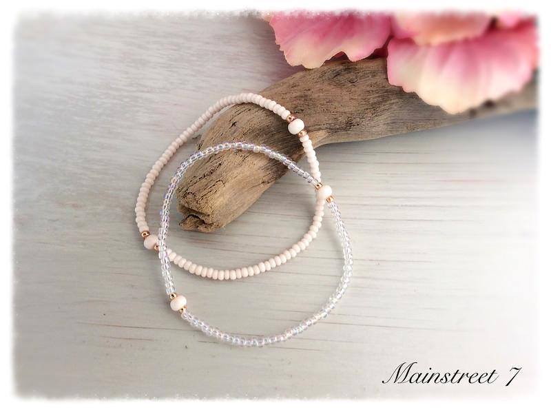 Kleinesbild - *Zoe* Armband, Perlenarmband, Hochzeit, Braut, Brautmädchen