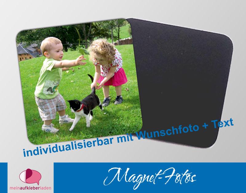 - 15 eckige Fotomagnete | personaliserbar mit eigenem Foto - 15 eckige Fotomagnete | personaliserbar mit eigenem Foto